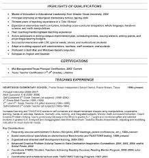 Example Of Teaching Resume Resume Samples Teacher High School ...