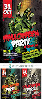 halloween sale flyer zombie halloween party by plaxtico graphicriver