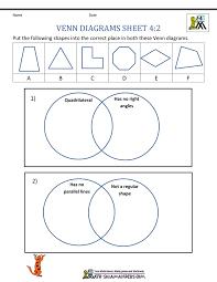 Venn Diagram Sheet Math Venn Diagram Worksheets Antihrap Com