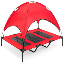 manufacturer whole orthopedic elevated dog bed camping cot with canopy