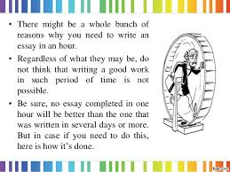 how to write an essay in hour how to write an essay in 1 hour created by essay academy com 2