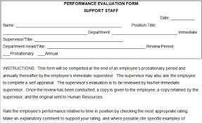 sample employee evaluations 70 fabulous free employee performance review templates uptick