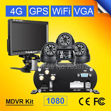 <b>4G GPS</b> WIFI 2TB HDD <b>SD Card</b> 4CH Mobile Car Dvr Video ...