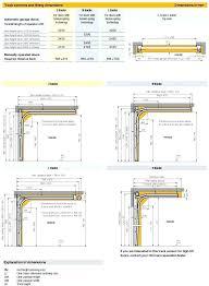 garage door header size sectional garage door dimensions for installation garage door header size chart