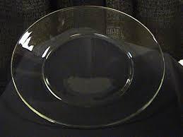 large clear glass dinner plates bulk