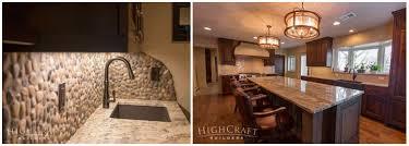 mountain rustic granite countertops highcraft builders