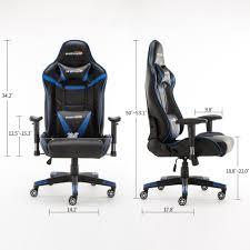 wensix ergonomic high back computer gaming chair