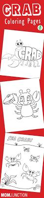 Top 10 Free Printable Crab Coloring