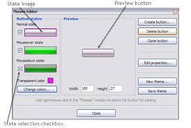 themes create create buttons in theme editor