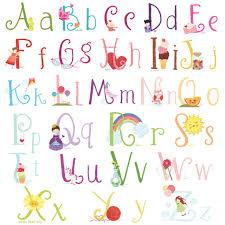 girly bubble alphabet fonts lil39 cloud cute girly wall decal stickers alphabet for emajane