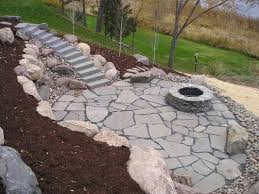 natural patio stones. Wonderful Natural Marvelous Natural Stone Patio Flagstone Fire Pit Ideas With Yelp In Stones E