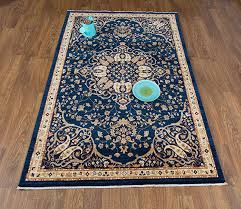 antep rugs oriental wave collection harem oriental area rug navy ivory 4 1