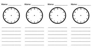 Telling Time Anchor Chart 1 Md 3 Telling Time Anchor Chart Add On