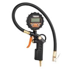 tire pressure gauge. freeman digital tire inflator with led pressure gauge e
