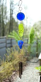 sea glass wind chime wind chime beach glass copper brass handcrafted outdoor chimes myrtle sea glass sea glass wind chime