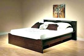low profile wooden bed frame – culturapop.co