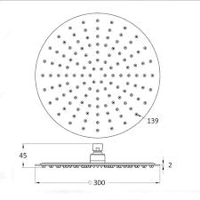 Regendusche Duschkopf Xxl Starbath Ultradünne 139 Antikalk