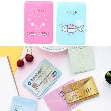 <b>Cartoon PVC Credit Card</b> Holder Protect ID Card Business Bus Card ...