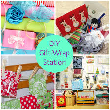 how to organize your gift bags paper or fabric wrapping paper and