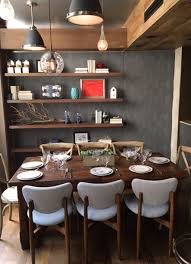 located in tribeca with an intimate e seating 20 graffiti earth features chef jehangir mehta s signature eclectic style of dishes with a strong