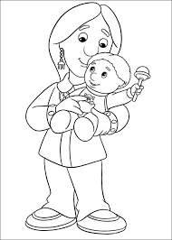 Small Picture Coloring Page Postman pat coloring pages 9