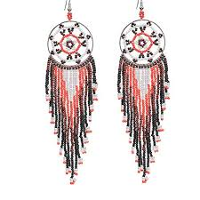 Native American Beaded Dream Catchers Interesting Amazon BALA Bead Earrings Dangle For WomenJapan Seed Bead