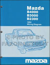 mazda b2300 service manuals shop owner maintenance and repair 1994 mazda b4000 b3000 b2300 pickup truck wiring diagram manual original