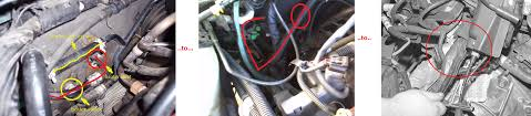 which is heater inlet hose pics included taurus car club of click image for larger version inlethose jpg views 7892 size 671 3