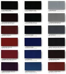 Kirker Automotive Paint Color Chart 2019