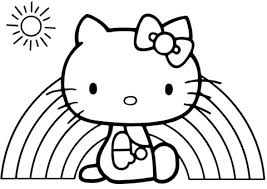 Free, printable hello kitty coloring pages, party invitations, printables and paper crafts for hello kitty fans the world over! Drawing Pictures For Kids Hello Kitty This Is A Really Nice Picture Of Hello Kitty I Think There Should Be At Least One Video On How To Draw It