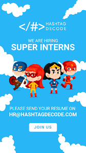 Seo Interns We Are Looking For Super Interns To Join Our Core Rapidly