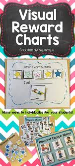 Daily Behavior Charts For Autistic Students Visual Reward Choice Menu Charts Classroom Behavior