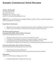Arts Resumes Fine Artist Resume Blaisewashere Com