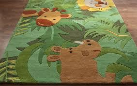 image of nursery rugs boy safari