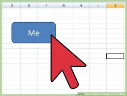 How To Make A Pedigree Chart In Excel 3 Ways To Make A Family Tree On Excel Wikihow