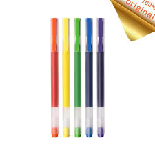 <b>Xiaomi Mijia</b> Pen <b>Super Durable</b> Colorful Signing Pens 5 Colors ...