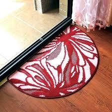 half circle rug gorgeous round kitchen rugs throughout semi circle rug design half inside half circle rug