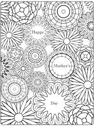 Small Picture Adult coloring page Mothers day 9