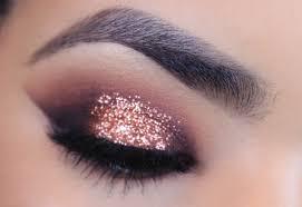 glitter eye makeup rose gold glitter makeup tutorial you uxpsmsk