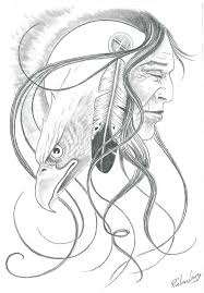 Native Dream Catchers Drawings Native American Dream Catcher Drawings Native American Pencil 14
