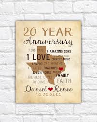 innovative wedding anniversary gifts for him men 20th gift or