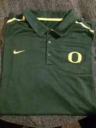 nwt nike dri fit polo shirt mens size 3xl oregon ducks green big tall