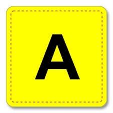 Alphabet For Pocket Chart Cards