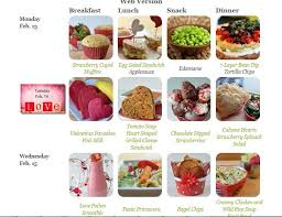 Healthy Menu For Breakfast Lunch And Dinner Healthy Balanced