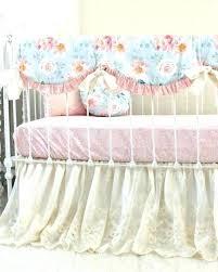 vintage baby bedding romantic blooms fl set car boy crib