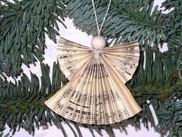Weihnachtsdeko Deko Engel Noten Engel Shabby Ein
