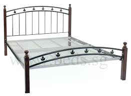 Iron Bed Frames Queen Wrought Iron Bed Frame Queen Wrought Iron Bed ...