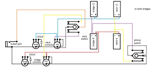 double neck wiring diagrams double wiring diagrams cars