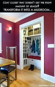 hall closet organizer coat closet organization traditional