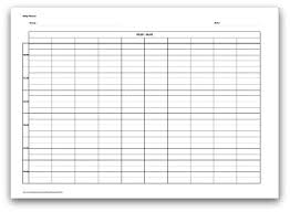 24 hour daily planner template selection of printable daily planner formats